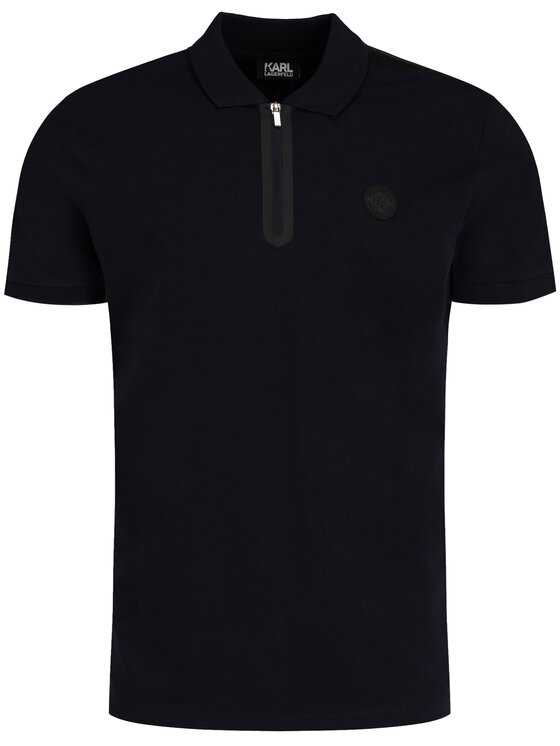KARL LAGERFELD KARL LAGERFELD Polo 755015 592221 Blu scuro Regular Fit