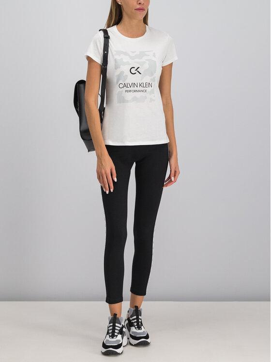 Calvin Klein Performance Calvin Klein Performance T-Shirt 00GWF9K200 Biały Regular Fit