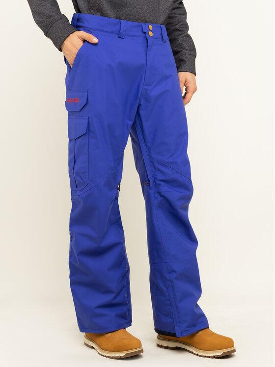 Burton Snieglenčių kelnės Cargo 13166105400 Tamsiai mėlyna Regular Fit