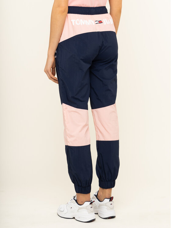 Tommy Jeans Tommy Jeans Долнище анцуг Colorblock DW0DW07699 Тъмносин Regular Fit