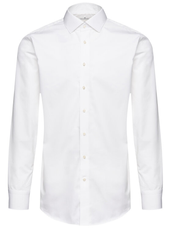 Emanuel Berg Emanuel Berg Πουκάμισο MCR37 Λευκό Modern Fit