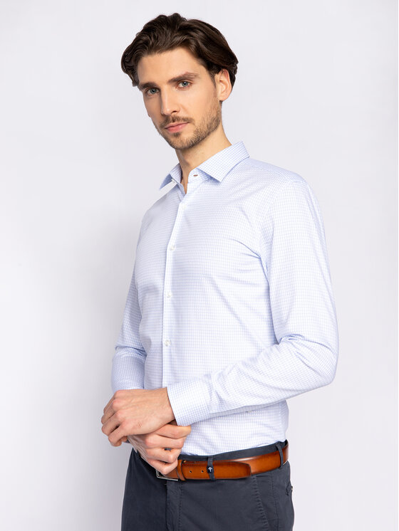 Hugo Hugo Πουκάμισο Kenno 50425815 Έγχρωμο Slim Fit