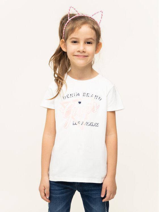 Guess Guess Marškinėliai K94I00 K82K0 Balta Regular Fit
