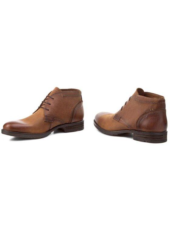Lloyd Lloyd Šnurovacia obuv Debar 25-569-12 Hnedá
