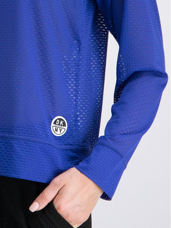 DKNY Sport DKNY Sport Sweatshirt DP9T6457 Dunkelblau Regular Fit