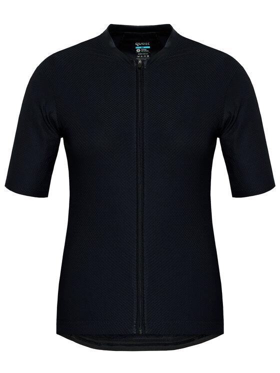 Quest Dviratininko marškinėliai Superfly Juoda Race Fit