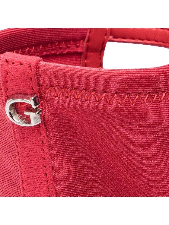 Guess Guess Botki Azrael FL5AZR FAB09 Czerwony