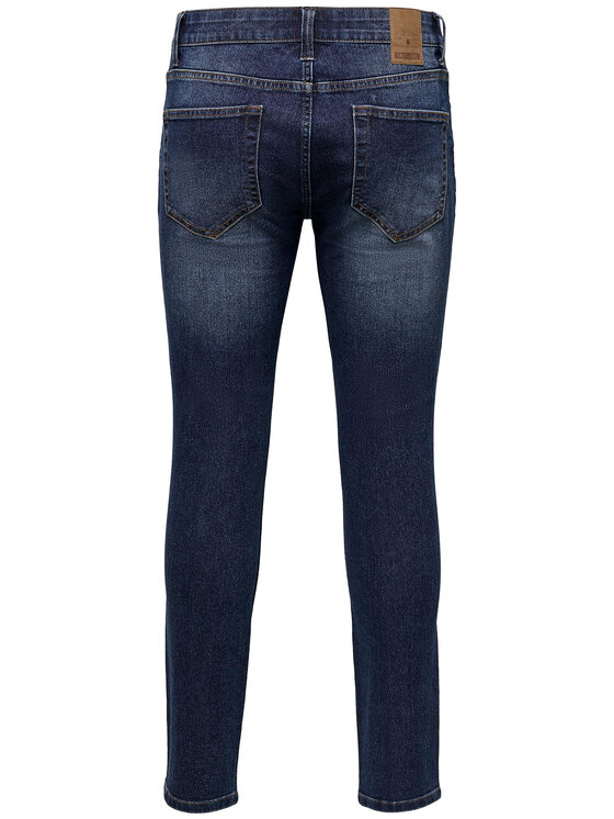 Only & Sons ONLY & SONS Jeansy Warp Life 22015148 Granatowy Skinny Fit