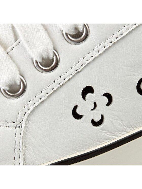Geox Geox Κλειστά παπούτσια D Prudenc A D5207A 000TU C0404 Λευκό
