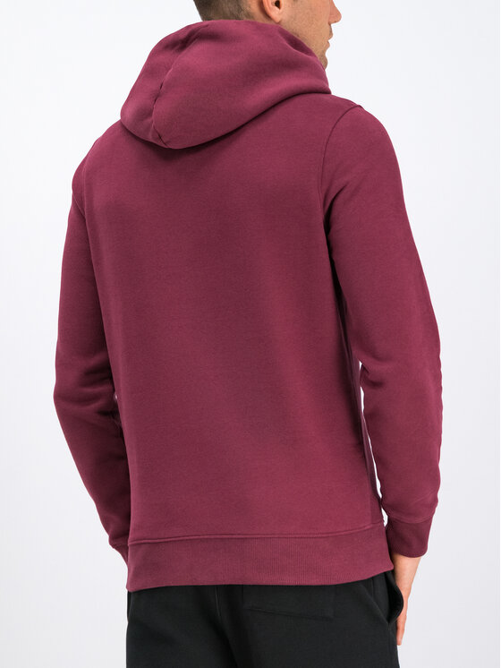Tommy Jeans Tommy Jeans Суитшърт Straight Logo DM0DM07030 Бордо Loose Fit