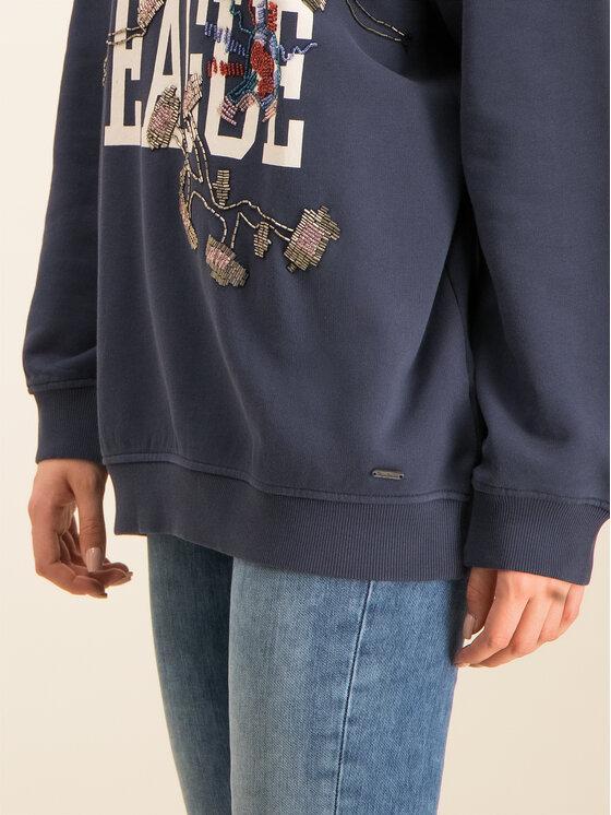 Pepe Jeans Pepe Jeans Sweatshirt Nazaniel PL580872 Bleu marine Oversize