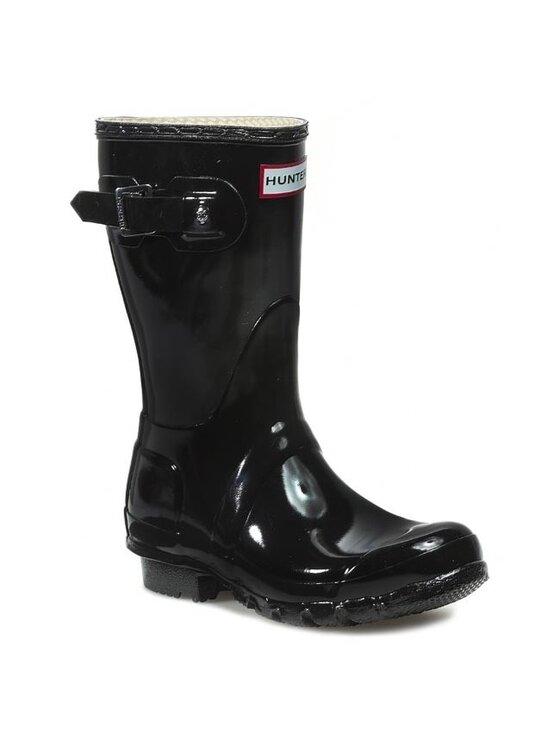 Hunter Guminiai batai Original Gloss Short WFS1000RGL Juoda