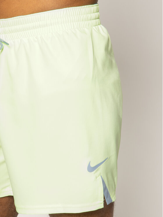 Nike Nike Szorty kąpielowe Solid Vital NESS9431 Żółty Regular Fit