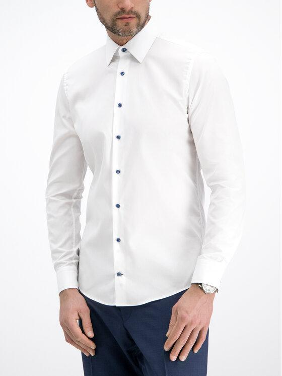 Joop! Joop! Marškiniai 30014749 Balta Slim Fit