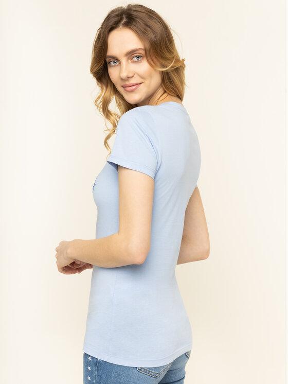 Liu Jo Liu Jo Marškinėliai WA0324 J5703 Mėlyna Regular Fit