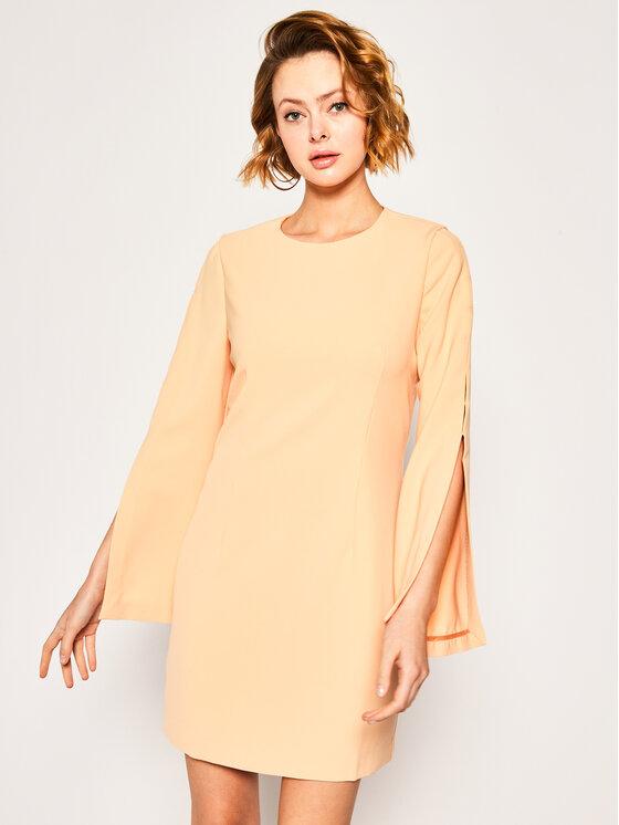 Marciano Guess Kokteilinė suknelė 02G760 9262Z Oranžinė Regular Fit