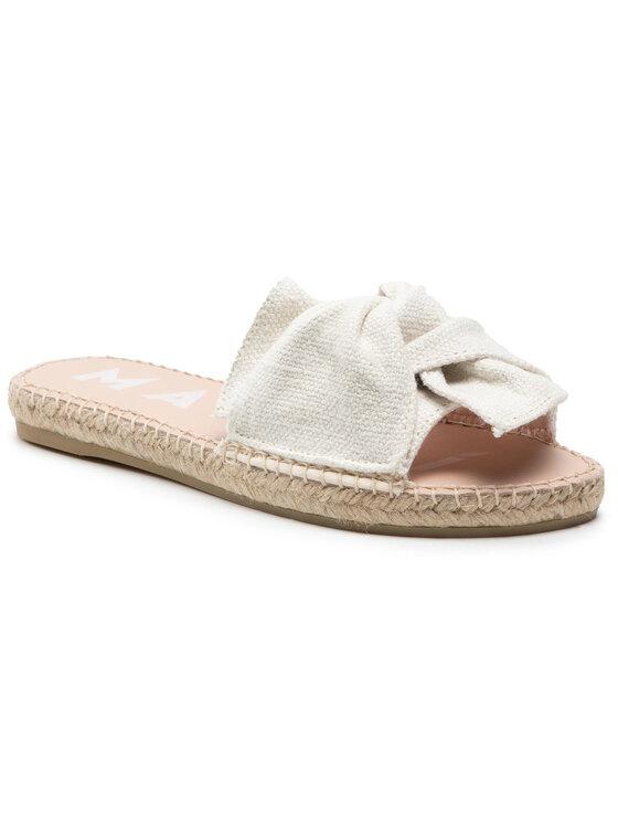 Manebi Espadryle Sandals With Knot O 4.0 JK Biały