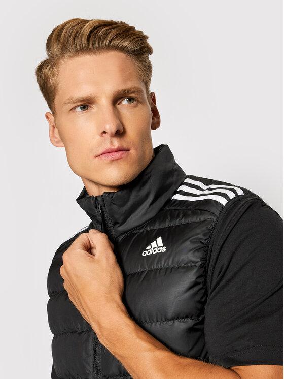 adidas adidas Kamizelka Essentials GH4583 Czarny Slim Fit