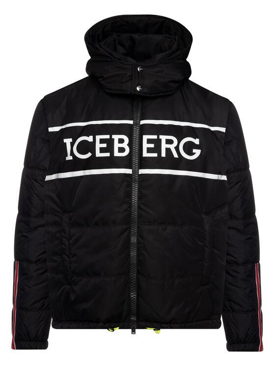 Iceberg Iceberg Télikabát 19I1P000305347 Fekete Regular Fit