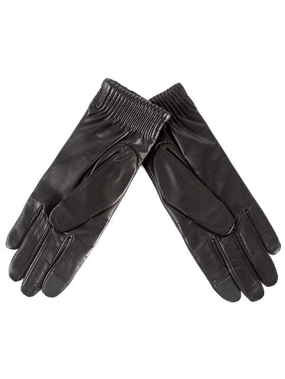 Calvin Klein Calvin Klein Rękawiczki Damskie Leather Gloves K60K603517 Czarny