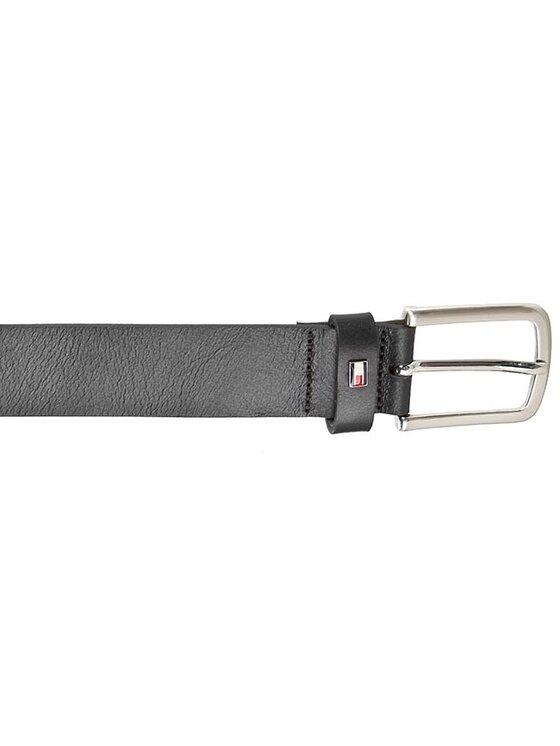 Tommy Hilfiger Tommy Hilfiger Мъжки колан Igor Belt 3.5 BM56927532 Черен