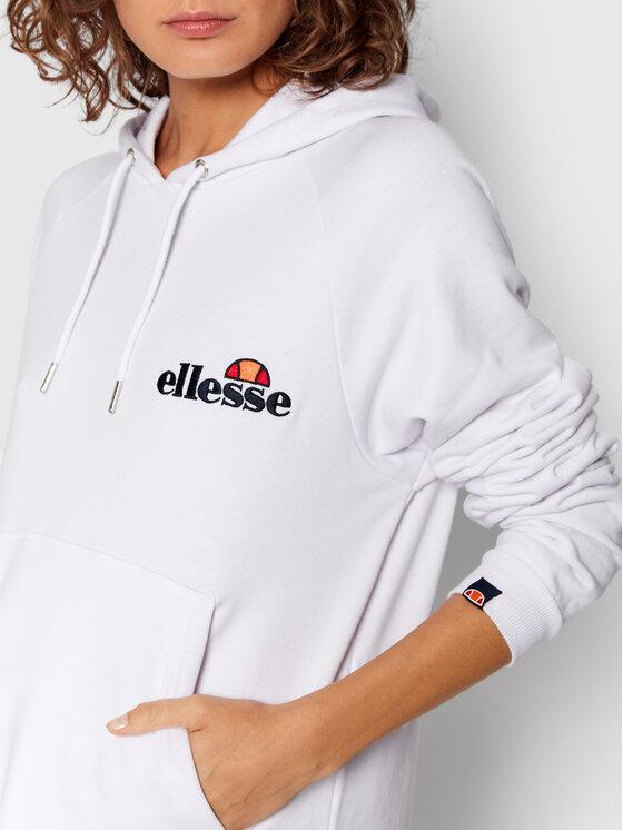 Ellesse Ellesse Džemper haljina Honey SGK13289 Bijela Relaxed Fit
