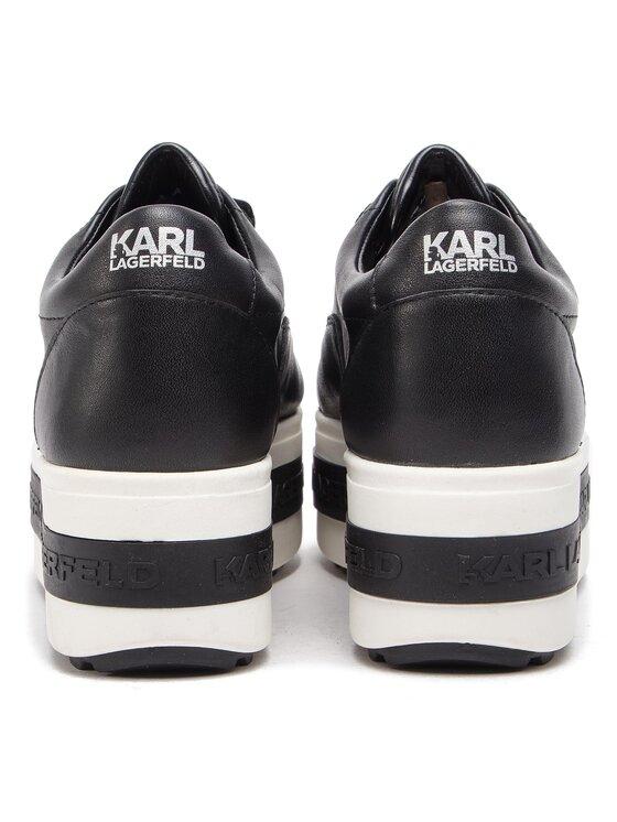 KARL LAGERFELD KARL LAGERFELD Αθλητικά KL61440 Μαύρο