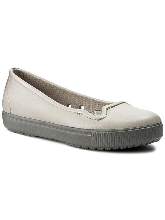 Crocs Crocs Scarpe basse Citilane Flat W 202923 Grigio