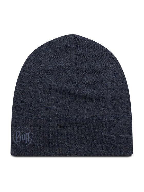 Buff Kepurė Midweight Merino Wool Hat Tamsiai mėlyna