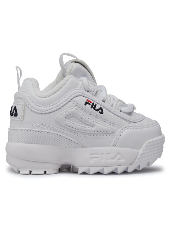 Fila Fila Sneakersy Disruptor F Infants 1010826.1FG Biały