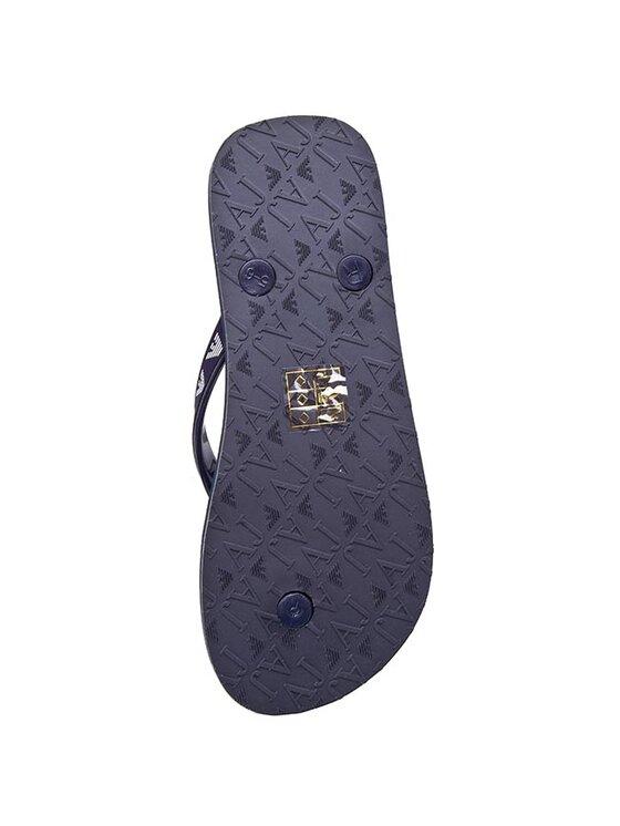 Armani Jeans Armani Jeans Šlepetės per pirštą A55F6 61 5R Mėlyna