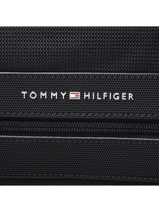 Tommy Hilfiger Tommy Hilfiger Torba na laptopa Elevated Nylon 48 Hour Bag AM0AM07583 Czarny