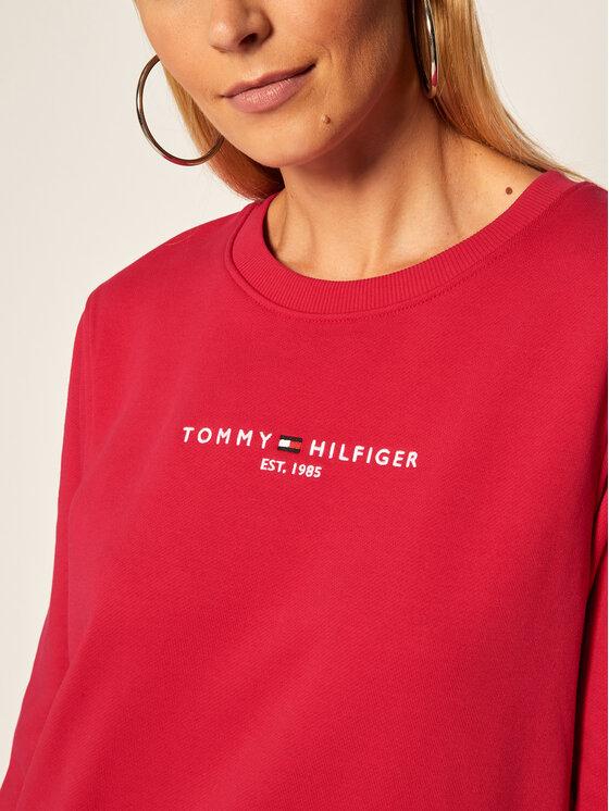 Tommy Hilfiger Tommy Hilfiger Mikina Essential WW0WW28220 Růžová Loose Fit