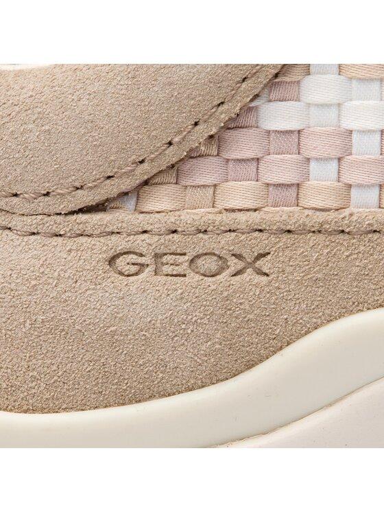 Geox Geox Sneakersy D Sukie A D52F2A 022ZI CH65Z Béžová