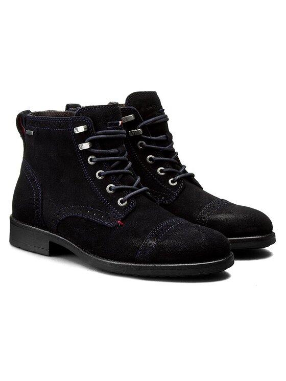 Tommy Hilfiger Tommy Hilfiger Μπότες Jeff 1B FM56821887 Σκούρο μπλε