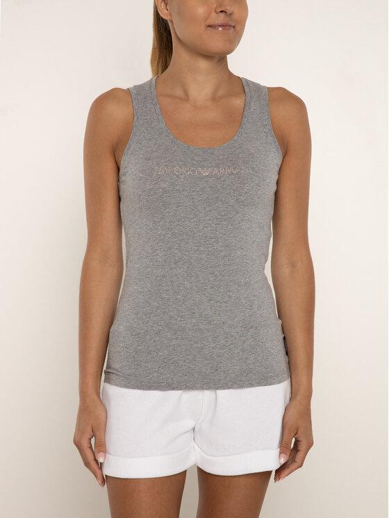 Emporio Armani Underwear Emporio Armani Underwear Top 163319 9P263 00748 Szary Slim Fit