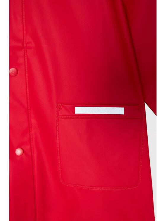Playshoes Playshoes Kurtka przeciwdeszczowa 408638 M Czerwony Regular Fit