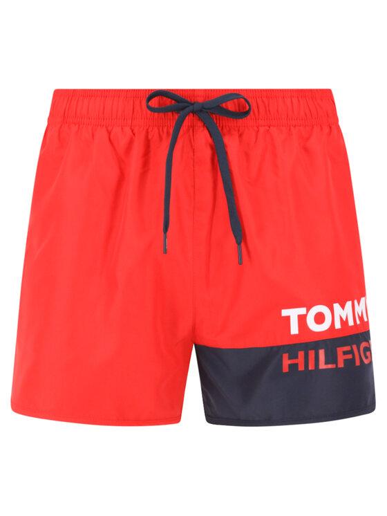 Tommy Hilfiger Tommy Hilfiger Плувни шорти Runner UMUM01683 Червен Regular Fit