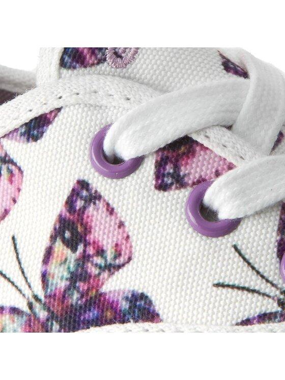 Geox Geox Πάνινα παπούτσια J Ciak G. E J5204E 000AN C0761 Λευκό