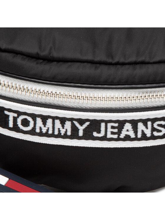 Tommy Jeans Tommy Jeans Saszetka nerka Tjw Mini Logo Tape Bumbag AW0AW09736 Czarny