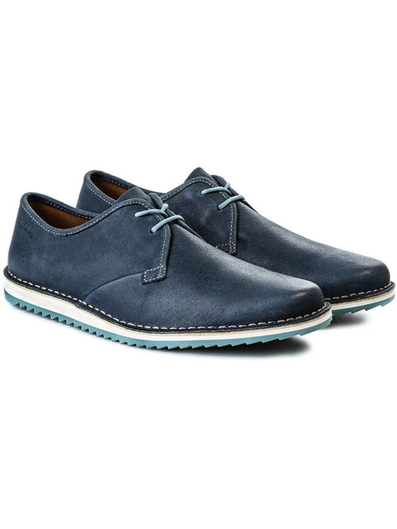 Clarks Clarks Félcipő Maxim Flow 203579987 Kék