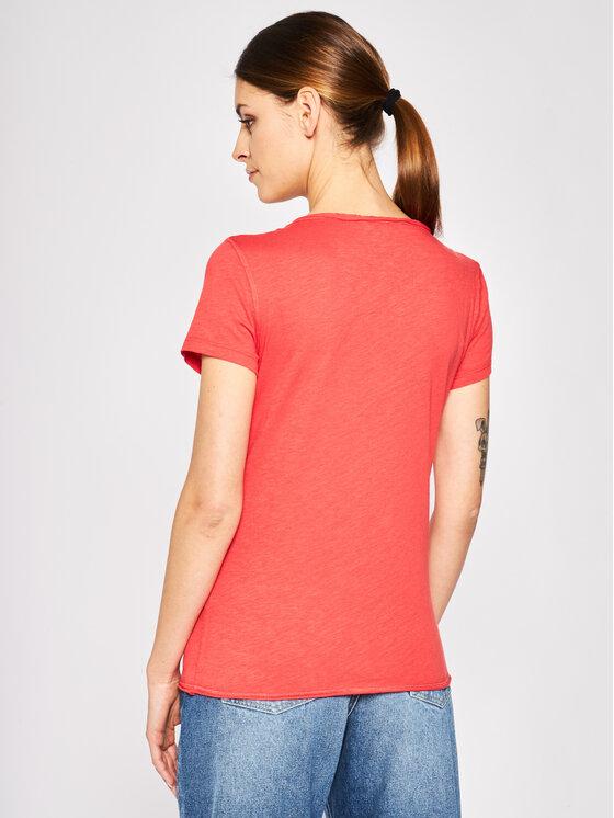 Desigual Desigual Marškinėliai Croacia 20SWTKBE Raudona Regular Fit