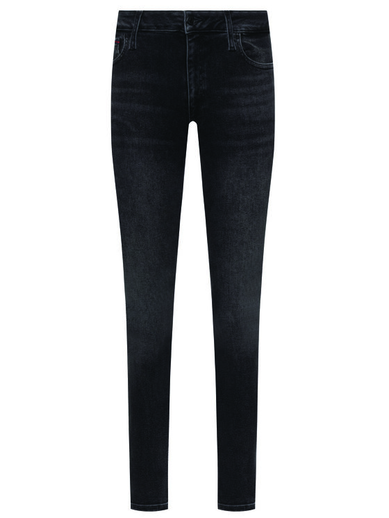 Tommy Jeans Tommy Jeans Blugi Skinny Fit Faded Dark Wash DW0DW07320 Gri Slim Fit