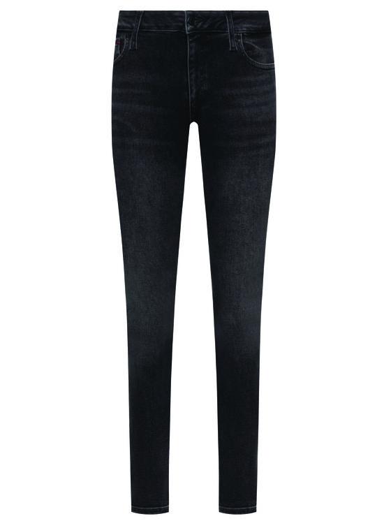 Tommy Jeans Tommy Jeans Дънки Skinny Fit Faded Dark Wash DW0DW07320 Сив Slim Fit