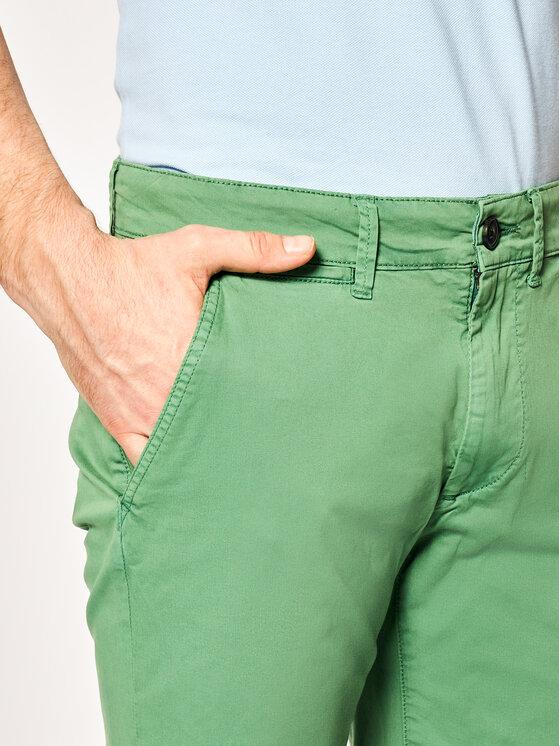 Pepe Jeans Pepe Jeans Šortky z materiálu Mc Queen PM800227C75 Zelená Regular Fit