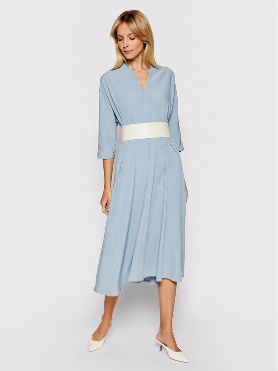 Imperial Kasdieninė suknelė AAWBBHP Mėlyna Regular Fit