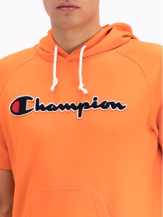 Champion Champion Bluza 212945 Pomarańczowy Comfort Fit