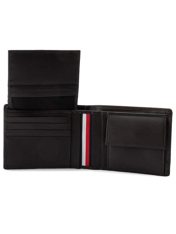 Tommy Hilfiger Tommy Hilfiger Duży Portfel Męski Th Business Cc Flap & Coin AM0AM05008 Brązowy