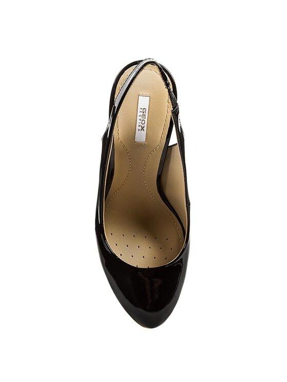 Geox Geox Sandále D Mariele Pl.H.A D42W8A 00066 C9999 Čierna