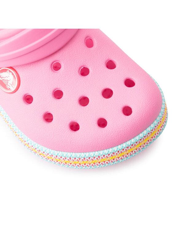 Crocs Crocs Šľapky Sport Cord Clog K 205899 Ružová